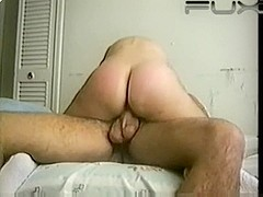 Amateur Girl With A Nice Round Ass Riding On Her Bed