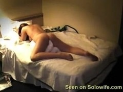 Solo wife homemade pillow humping