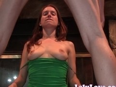 Lelu Love-Tit Slapping Blowjob