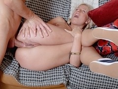 Her very first anal sex on camera
