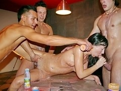 Real college sex at weekend bash, part 3