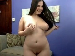 Hot Chubby Plumper GF showing her nice legs and body