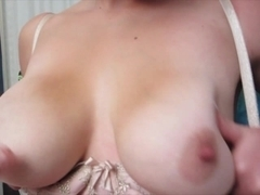 Massive boobs amateur gf Veronica Wild first time anal action