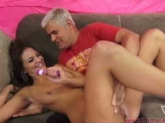 Teenager Naomi West Receives Drilled Hard