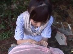 Big facial cumshot on her pretty Aino Kishi