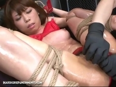 HardcorePunishments Video: Lube Her Up