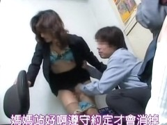 Asian porn movie with kinky director fucking a sexy slut