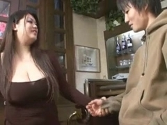 Oriental big beautiful woman hj then knob