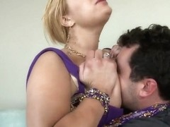 Spicy Shyla Stylez treats her fucker with sweet boobs!