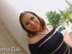 Asstraffic Diana Dali gets a big dick in her ass
