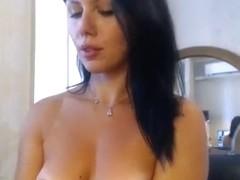 Passionate beauty Mashulya29 fondles her vagina