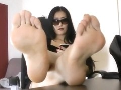 Sexy high arched feet