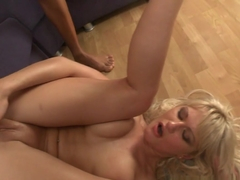 Horny pornstar Anita Hengher in Hottest Gangbang, Creampie porn movie