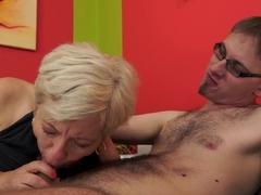 Hottest pornstar Ursula Grande in Incredible Blonde, Grannies porn clip