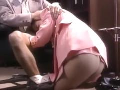 Exotic Japanese girl Ai Mizuno in Fabulous Stockings/Pansuto, Vintage JAV scene