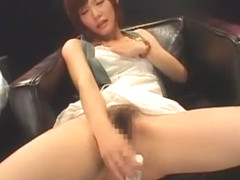 Horny Japanese model Rei Kiyomi in Exotic Masturbation/Onanii, Dildos/Toys JAV movie