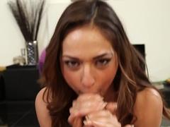 Amazing pornstars Will Powers, Sara Luvv in Fabulous Latina, Deep Throat sex scene