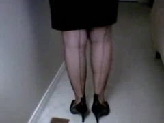 FFS-Full Fashion Nylons Feet Show & Tease