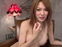 Japanese Girl  Rei Cum Swallowing