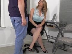 Naughty secretary