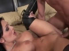 Best pornstar Aletta Ocean in hottest brunette, big tits adult clip