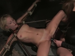 Hottest fetish xxx scene with fabulous pornstars Alexa Lynn and Kayla Paige from Whippedass