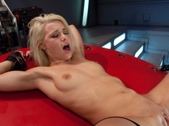Best fetish adult video with exotic pornstar Anikka Albrite from Fuckingmachines