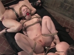 Amazing fetish xxx video with exotic pornstars Cherry Torn, Daphne Rosen and Madison Young from Wh.