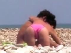 PJ Spy at beach # 1