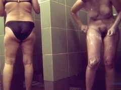 Hidden cameras in public pool showers 558