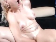 Fabulous webcam Blonde, MILF clip with SlaveCadenc girl.