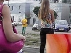 Hot Barbie angel upskirt video
