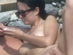 Undressed Beach - Sexy Aged Erect Smiles