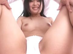 Fabulous Japanese chick Saya Itsuka in Exotic couple, creampie JAV clip