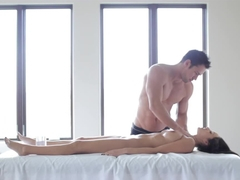 Hottest pornstar Breanne Benson in Incredible Fingering, Massage adult video