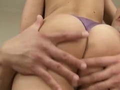 Blonde and brunette girls are fucking with two sexy boys