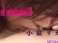 Japanese AV Model has juicy crack screwed including doggy style