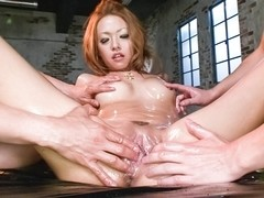 Crazy Japanese slut Rei Miyakawa in Amazing JAV uncensored Creampie movie