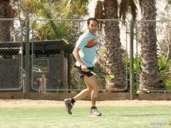 Big Tits In Sports: The Ball is in her Cunt
