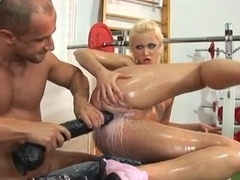 Anal in the Gym
