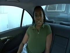 Backseat Swarthy big beautiful woman