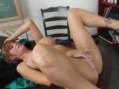 Darla Crane teaches David Loso how to fuck