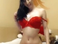 Scumpicamica took off her panties and fucks herself