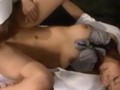 Akina Kinky Asian lesbian nurse