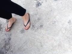 coworkers feet