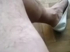 this chab sexy shoes of my wife always make me lascivious for beating off my ramrod