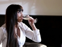 Exotic pornstars Logan Pierce, Mercedes Carrera in Horny MILF, Lingerie porn video