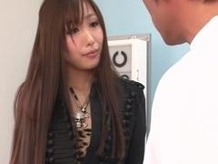 Incredible Japanese slut Natsuki Yoshinaga in Exotic JAV uncensored Facial movie
