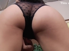 Crazy pornstar Tia Cyrus in incredible blowjob, big ass sex video
