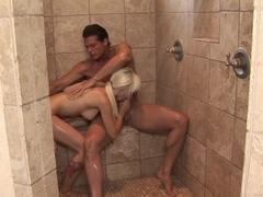 Horny pornstar Stevie Shae in Incredible Blonde, Massage adult movie